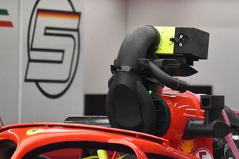 Ferrari SF71H, sistema di raffreddamento del motore