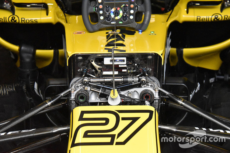 Renault Sport F1 Team R.S. 18 front detail