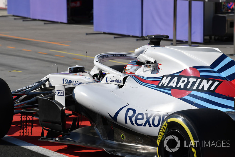 at Formula One Testing, Day Two, Hungaroring, Hungary, Wednesday 1 August 2Robert Kubica, Williams FW41 018. Mark Sutton