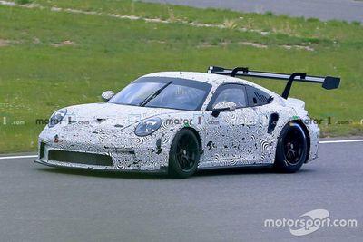 Porsche-Test auf dem Nürburgring