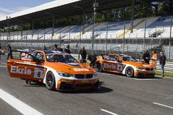 Ricardo van der Ende, Bernhard van Oranje, Racing Team Holland by Ekris Motorsport, Ekris M4 GT4 and Simon Knap, Rob Severs, Racing Team Holland by Ekris Motorsport, Ekris M4 GT4