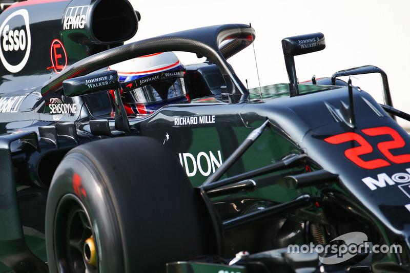 McLaren MP4-31: Halo