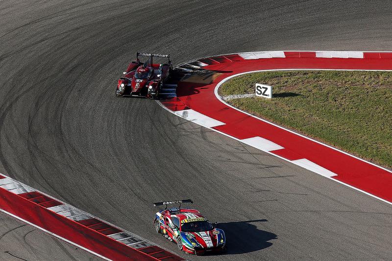 #51 AF Corse Ferrari 488 GTE: Gianmaria Bruni, James Calado; #43 RGR Sport by Morand Ligier JSP2 - N