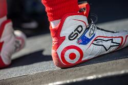 Shoes of Scott Dixon, Chip Ganassi Racing Chevrolet