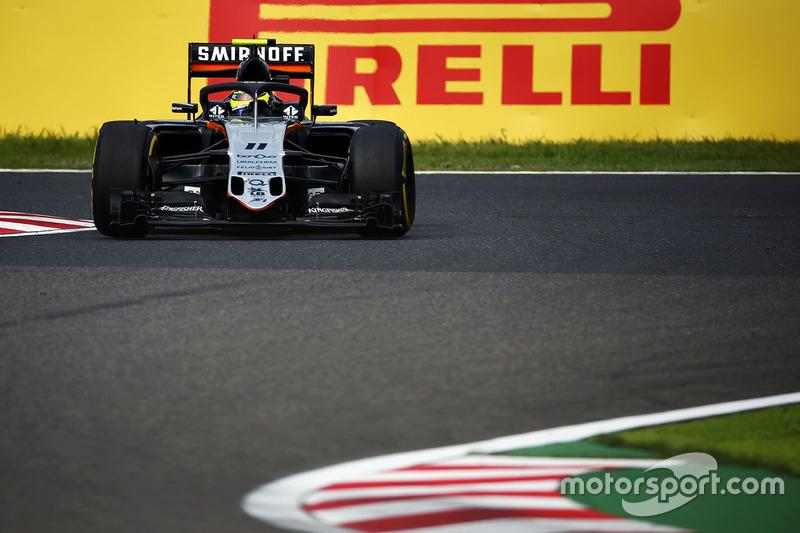 Sergio Perez, Sahara Force India F1 VJM09 ve Halo sistemi