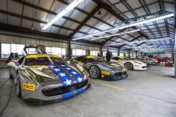 Ferraris ready to go