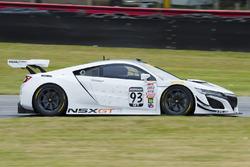 Peter Kox au volant de l'Acura NSX GT3