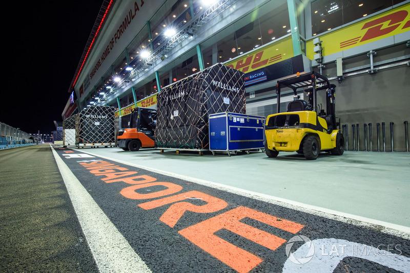Вантажі Williams F1