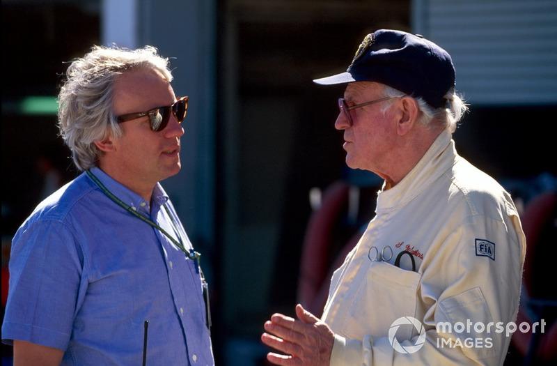Гоночний директор FIA Чарлі Вайтінг і професор Сід Воткінс