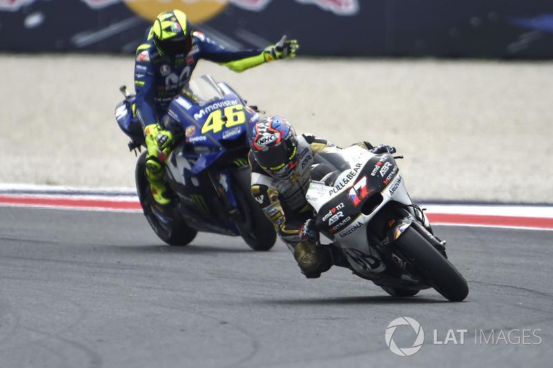 Karel Abraham, Angel Nieto Team, Valentino Rossi, Yamaha Factory Racing