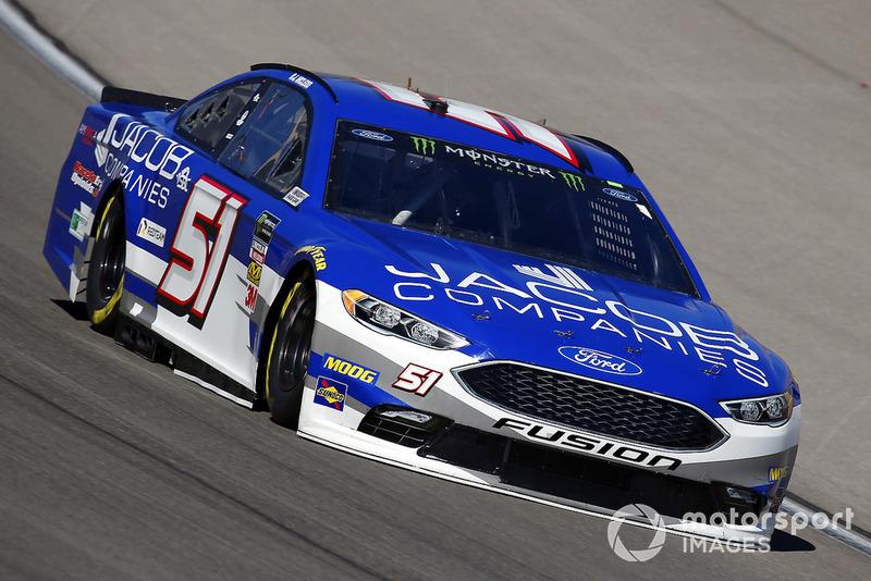 38. B.J. McLeod, Rick Ware Racing, Ford Fusion Jacob Companies