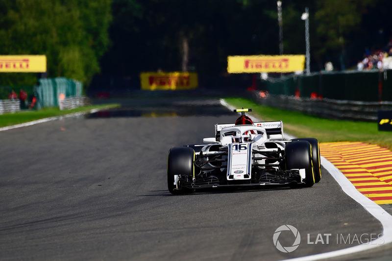 12. Charles Leclerc, Sauber C37