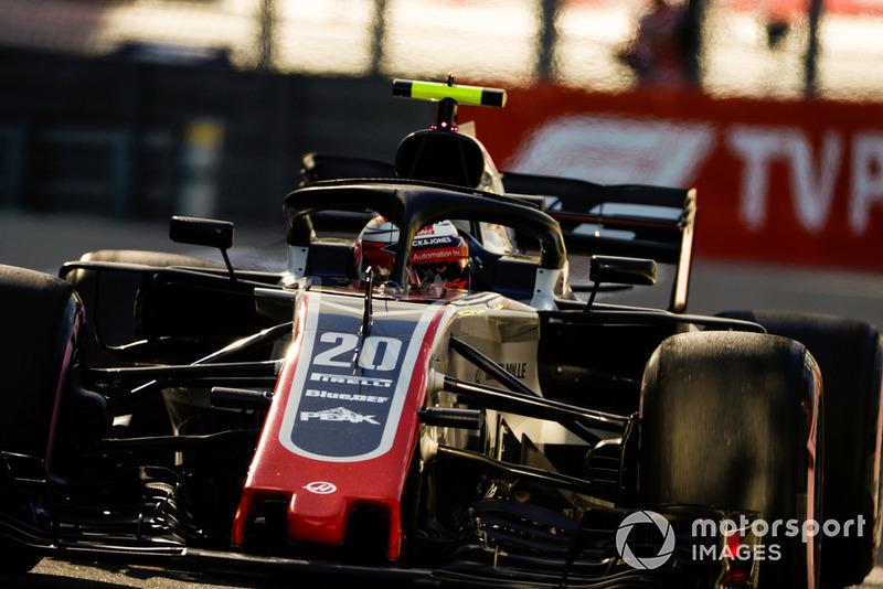 5: Кевін Магнуссен, Haas F1 Team VF-18, 1'33.181