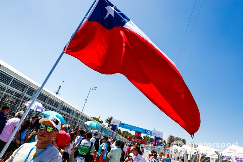 A Chilean flag