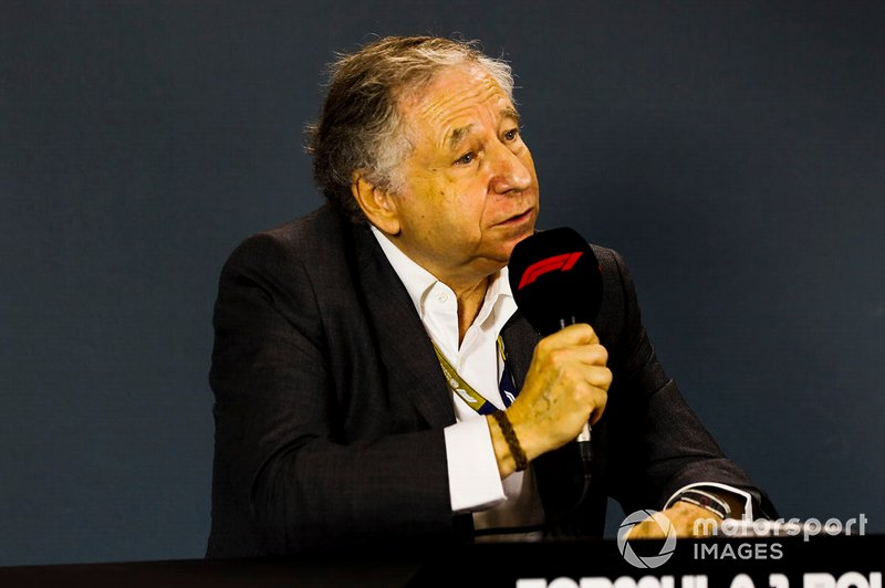 Jean Todt, President, FIA, in a Press Conference