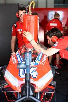 Ducati Team refueling