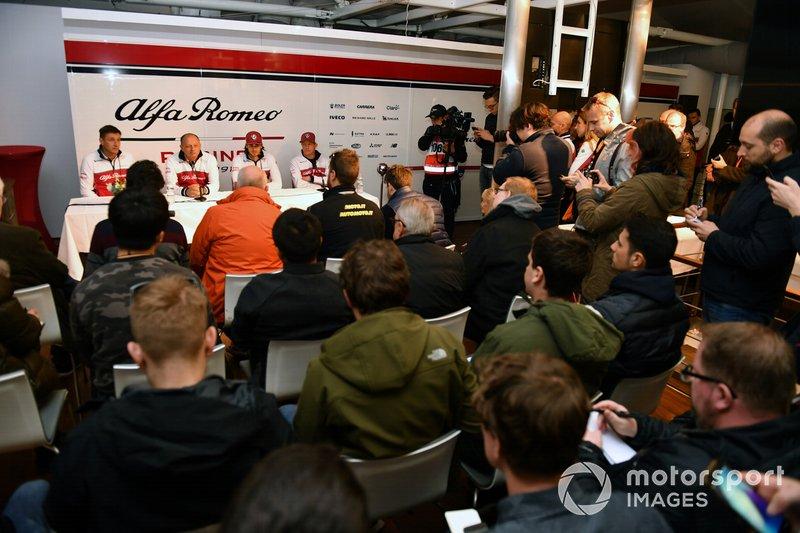 Alfa Romeo Racing Press Conference