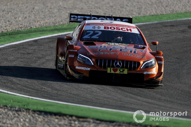 12. Lucas Auer, Mercedes-AMG Team HWA, Mercedes-AMG C63 DTM