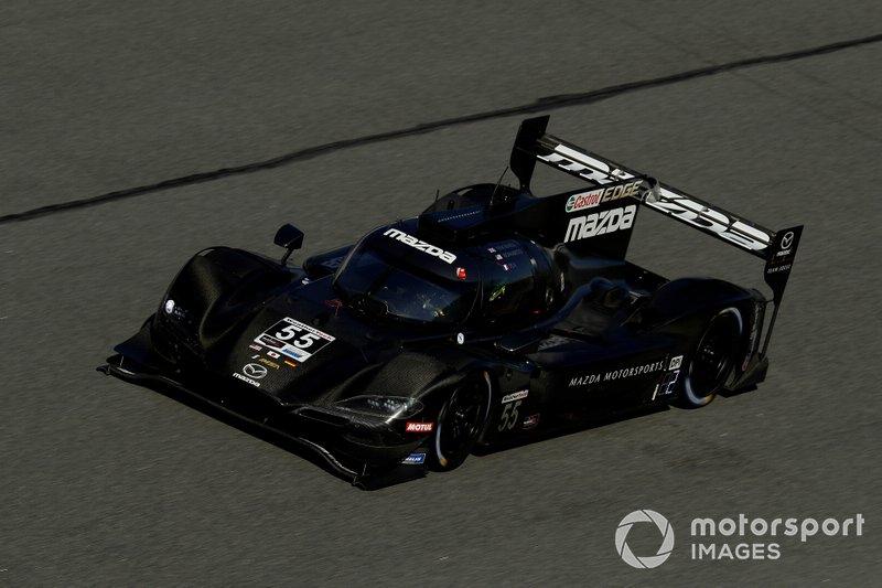 Mazda beim Test in Daytona