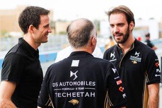 FIA World Rally champion Sébastien Ogier with Jean-Eric Vergne, DS TECHEETAH