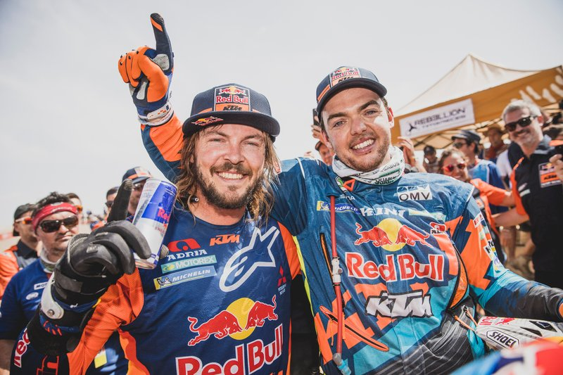 #1 Red Bull KTM Factory Team: Matthias Walkner, Toby Price