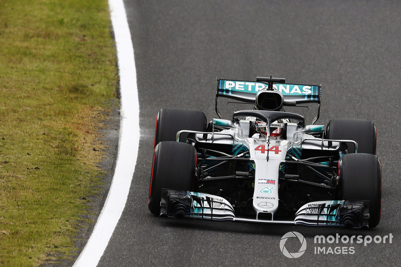 Hamilton 80, Mercedes 98