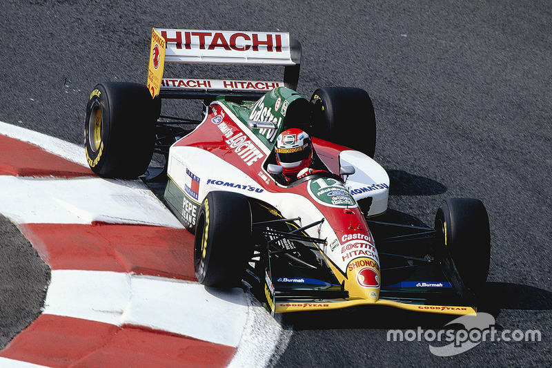 Джонні Херберт, Team Lotus 107B Mugen Honda
