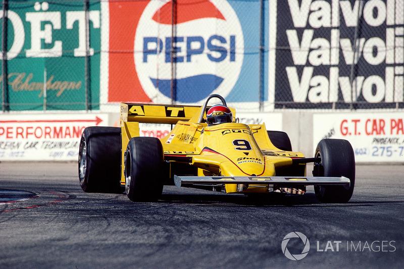 Ян Ламмерс (в Ф1 – 1979-1982, 1992, 41 Гран При, 0 очков)