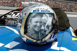 Hommage an Cale Yarborough: Helm von Jimmie Johnson, Hendrick Motorsports, Chevrolet