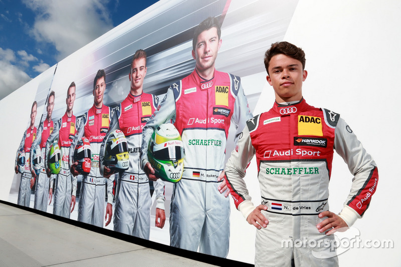 Нік де Вріс, резервний гонщик Audi Sport DTM