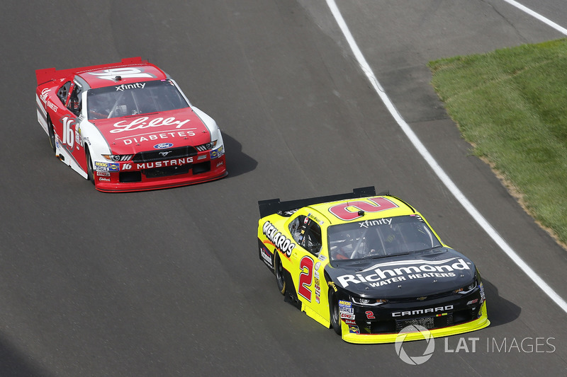Paul Menard, Richard Childress Racing Chevrolet Ryan Reed, Roush Fenway Racing Ford