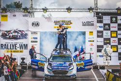 Los ganadores Ott Tänak, Martin Järveoja, Ford Fiesta WRC, M-Sport