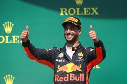 Podyum: 3. Daniel Ricciardo, Red Bull Racing