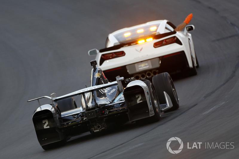 Gelbphase: Josef Newgarden, Team Penske Chevrolet, führt