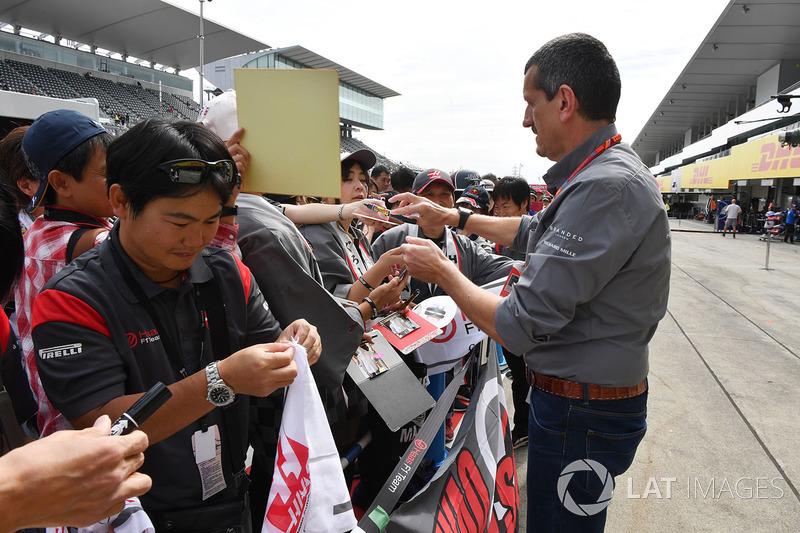 Керівник Haas F1 Team Гюнтер Штайнер