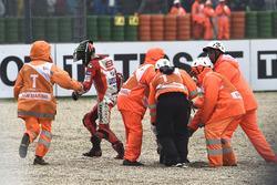 La chute de Jorge Lorenzo, Ducati Team