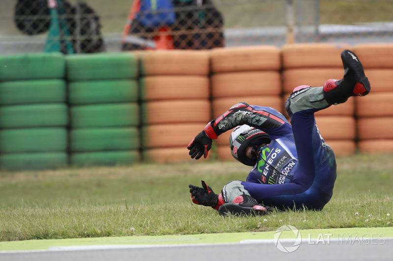 Maverick Viñales, Yamaha Factory Racing, kaza