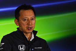 Yusuke Hasegawa, Head of Honda Motorsport in the Press Conference