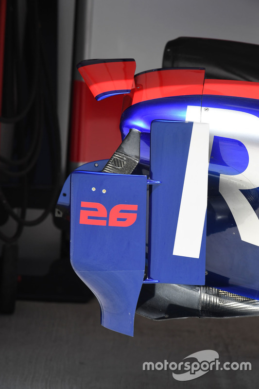 Chassis and aero detail of Scuderia Toro Rosso STR12