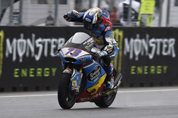 Second place Alex Marquez, Marc VDS