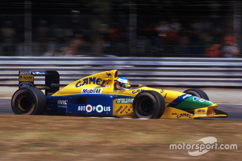 Міхаель Шумахер, Benetton B191