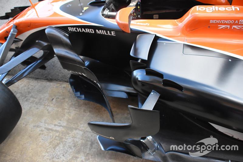 McLaren MCL32, detalle