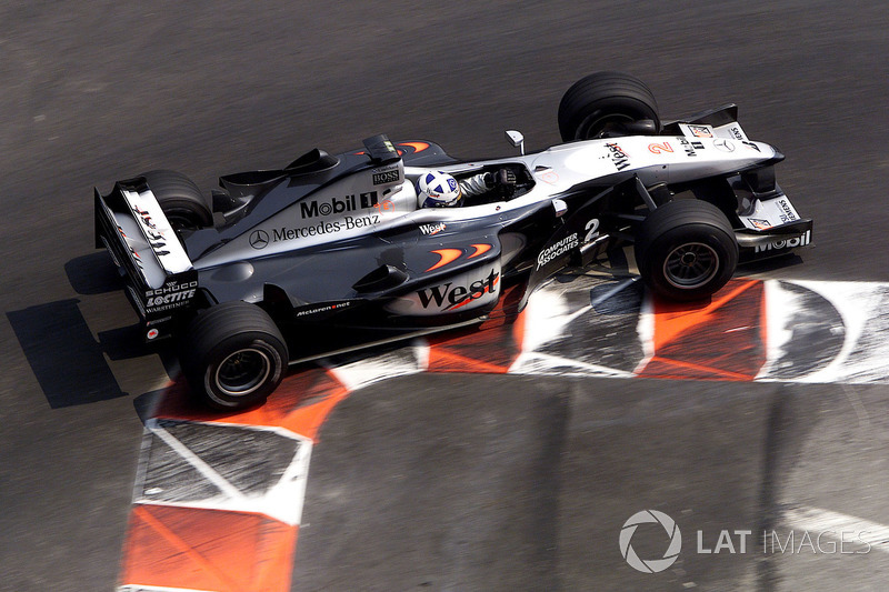 2000: David Coulthard McLaren MP4/15
