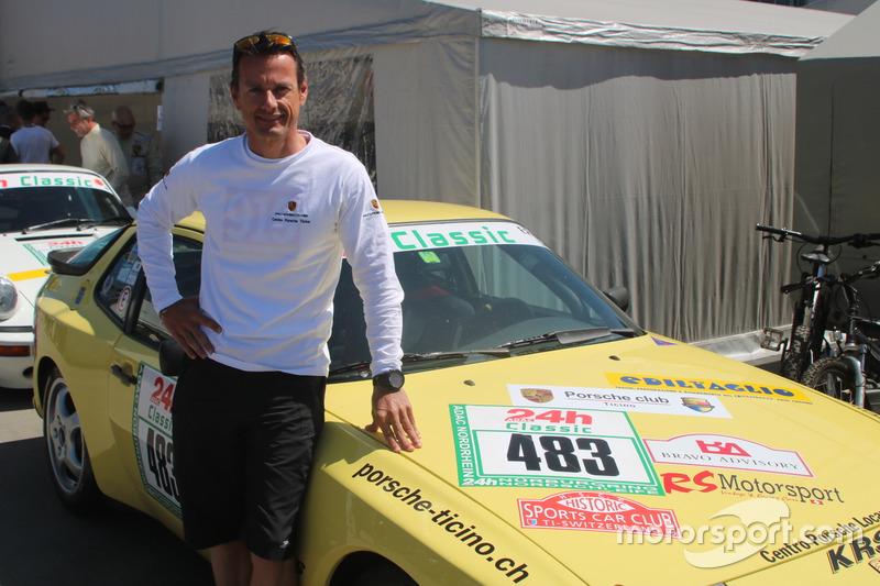Ivan Jacoma, Porsche 944