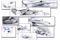 2018 IndyCar aerokit concept drawings