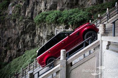 Ho-Pin Tung Range Rover Challenge