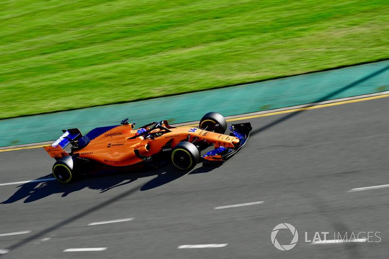 GP de Australia: Fernando Alonso (5º en carrera)
