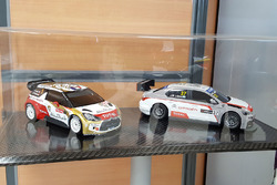 Coches modelo Diecast WTCC, equipo Citroën World Touring Car