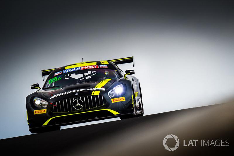 Ник Левентис, Льюис Уильямсон, Кэмерон Уотерс, Давид Фуманелли, Strakka Racing, Mercedes AMG GT GT3 (№55)