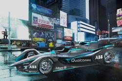 Formule E-auto 2018/2019